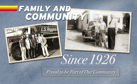 Riggins Family and the Community