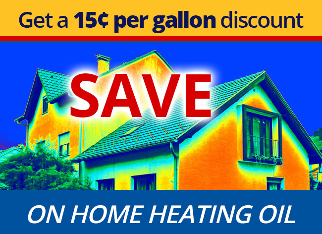 save 15 cents per gallon on home heating oil
